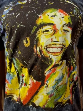 Bob Marley - Reggae - No Time - t-shirt - 100% cotton  - Black - Medium