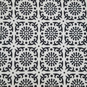 Black - White - Elephant  - Flower - Mandala - Wall Hanging - Tapestry - Throw - Bed sheet -100% Cotton - Single - Double