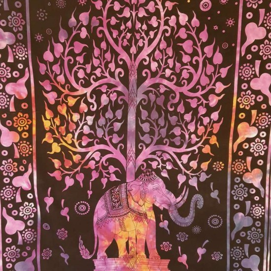 Purple - Pixie -  Wall Hanging-Tapestry-Throw
