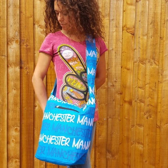 Manchester Bag - Turquoise Blue