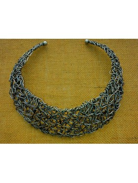 Weave Collar Necklace