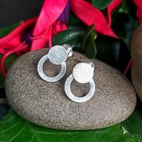 92.5 Sterling Silver Stud Earrings