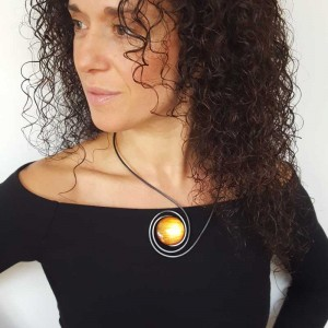 BCN necklace - Amber