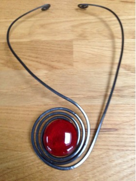 BCN Necklace - Red