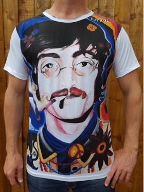 John Lennon - 60s - Mirror - T-Shirt - 100% cotton