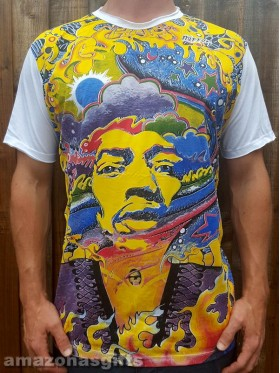 Jimi Hendrix - Mirror - T shirt  - 100% cotton