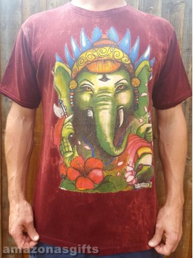 Ganesha - No Time - T-shirt - 100% cotton - M - L