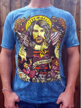 Kurt Cobain - Nirvana - No Time - T shirt - 100% cotton