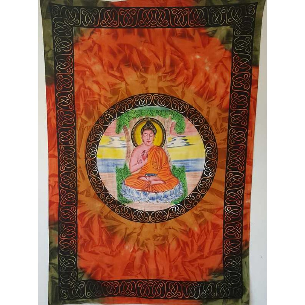 Buddha Tapestry Wall Hangings buddha - wall hanging-tapestry-throw-bed sheet - 100% cotton - bed0017
