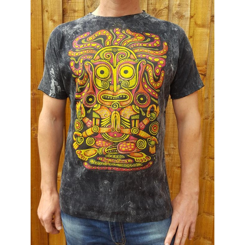 Tribal - No Time T shirt - Black