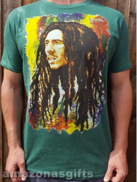 Bob Marley -  Dreads - No Time - t-shirt - 100% cotton