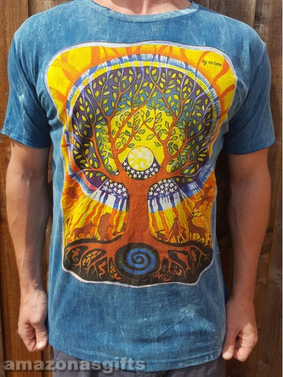 Tree of life - mother nature - No Time - T-shirt -100% cotton