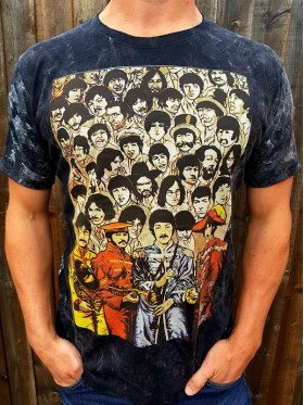 The Beatles - Sgt Pepper - No Time -  T shirt - 100% cotton